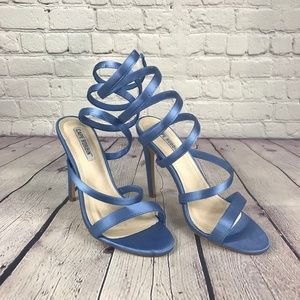 Cape Robbin Suzzy-59 Blue Women's High Heel Blue
